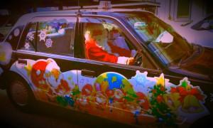 サンタクロースタクシー 吉備タクシー