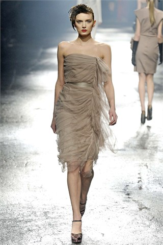 PARIS fashion week march 2009 LANVIN _Ready to weat fall winter 2009/10